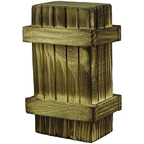 Toraway Inteligencia Interesante misterioso rompecabezas educativo del juguete de madera Secreto Caja Mágica