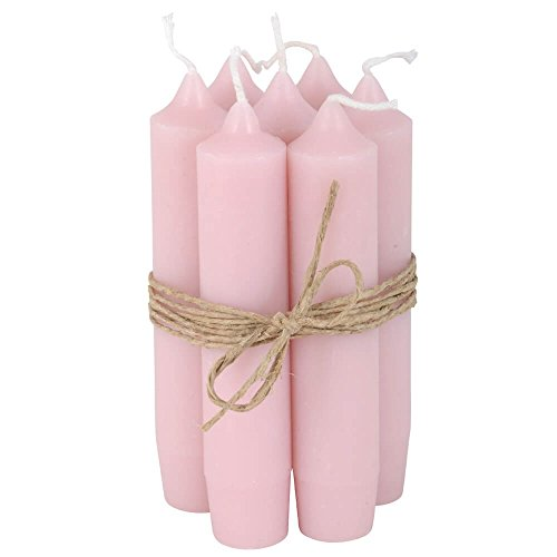 IB Laursen barra de velas de 8 unidades de colour rosa claro