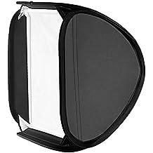 """Neewer® 31""""x31"""" / 80cmX80cm Profesional Protable Plegable Off-Cámara Flash de Fotografía estudio, Retrato Caja suave con L-forma soporte & flash anular, Exterior difusor y caja de transporte para Nikon, Canon, Sony, y Otros Pequeños Flashes estroboscópicas"""