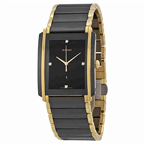 Rado Integral Herren-Armbanduhr Diamant Zwei Ton Quarz R20204712