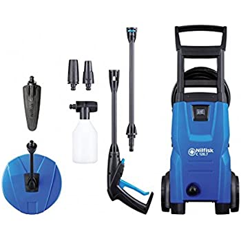 Nilfisk C120 7-6 Patio and Brush Pressure Washer - Blue