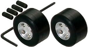 Scalextric 500008410 - Pack de 2 Llantas y neumáticos de Silicona de F1 Importado de Alemania