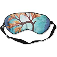 Eye Mask Eyeshade Tree Oil Painting Sleep Mask Blindfold Eyepatch Adjustable Head Strap preisvergleich bei billige-tabletten.eu