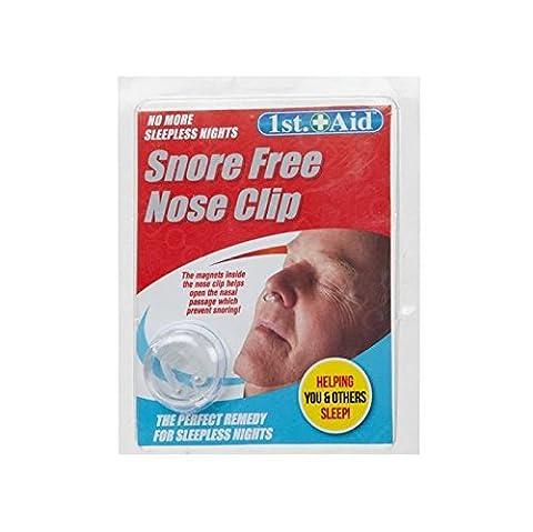 Schnarchen gratis Nase Clip Lösung Cure Stop Schnarchen Schlaf magnetisch Ring Night Anti.