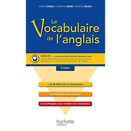 Le vocabulaire de l'anglais