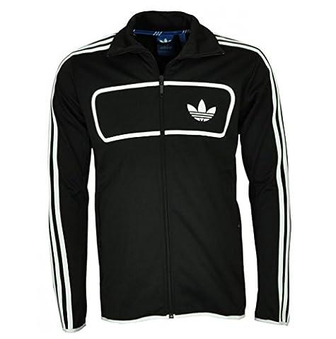 adidas-Männer ursprüngliches Straßen Diver TT 3-Strap Fitness / Running / Soccer Sports Track Jacket S
