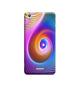 Ebby Premium Printed 3D Designer Back Case Cover For Lava Pixel V1 (Premium Designer Cae)