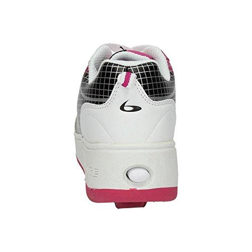 BEPPI Bambina Scarpe sportive BIANCO-FUCSIA