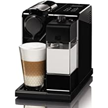 Nespresso De'Longhi Lattissima Touch EN 550B-Cafetera de cápsulas, 19 bares, apagado automático, depósito de leche, táctil, color Glam Black