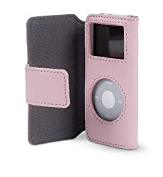 Belkin Folio Case For Ipod Nano - Pink, Leather