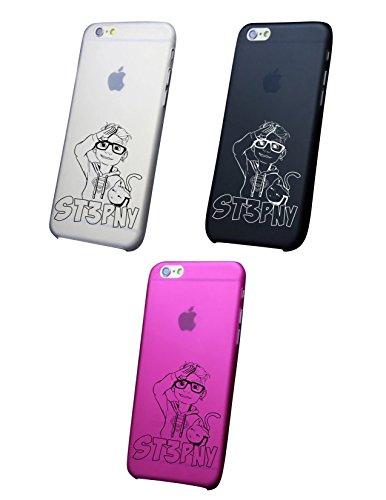 Cover IPHONE X-8-8PPLUS 6 - 6 PLUS - 6S - 6S plus - 7 - 7 plus - ST3PNY Trasparente VARI COLORI UltraSottili AntiGraffio Antiurto Case Custodia Bianco