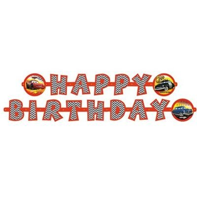 Riethmüller 550487 - CARS - 1 Partykette (Boy Motto-partys)