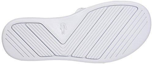 Lacoste L.30 Slide 217 2, Mules Femme Blanc (Blanc)