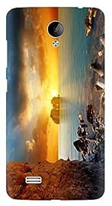 Kizil Designer Printed Back Cover for Vivo Y21