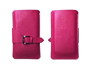 Atv Flip Pouch Case Cover For Lenovo S90 Sisley (Palevioletred)