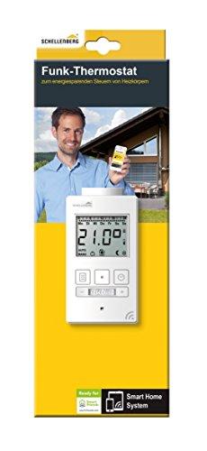 Schellenberg Smart Home Funk-Thermostat weiß - 2