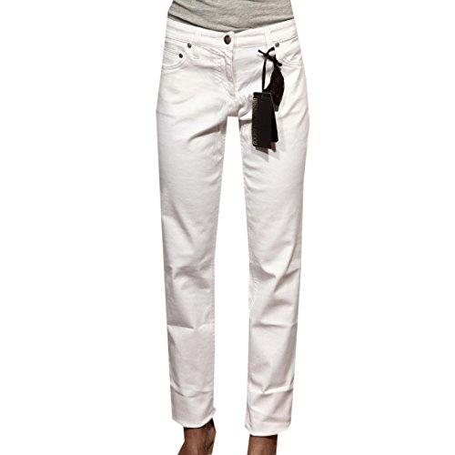 83067 pantaloni lunghi roberto cavalli 5 tasche jeans donna trousers women [40]
