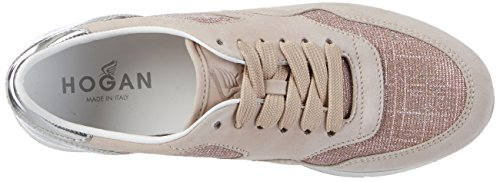 Hogan Hxw2220n627g870v61, Sneakers basses femme Multicolore (Cipria Antico/Toffie)