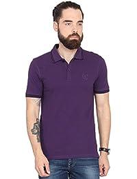 Urban Nomad Purple Half sleeves T-Shirt