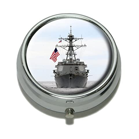 United States Navy Destroyer USS Fitzgerald Pille Fall Trinket Box