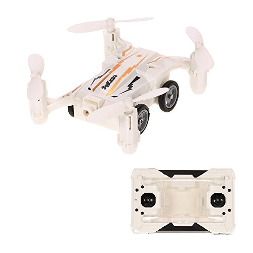 Goolsky Flytec SBEGO 132 2.4G 4CH Aire-Tierra Flying RC Car Mini Drone Modo sin cabeza One-key Return Quadcopter