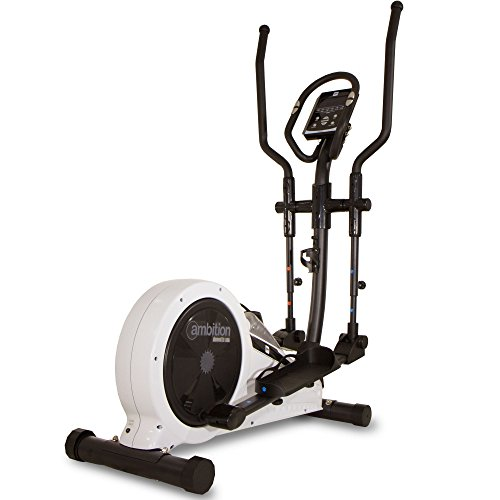 BH Fitness AMBITION Crosstrainer - Stride length 32cm - Magnetic resistance - Inertial system 12kg - 15 programs - G2349FD
