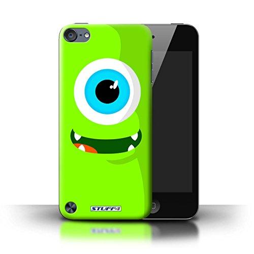 Stuff4 Hülle / Case für Apple iPhone 7 Plus / Lila Muster / Monster Kollektion Grün