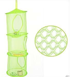 Rangement multifonctions rangement de jouets rangement à suspendre Vert