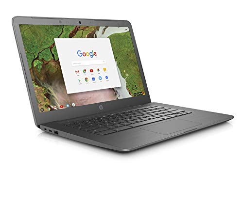 HP Chromebook 14-ca000na 14-Inch Laptop - (Grey) (Intel Celeron Dual Core, 4 GB RAM, 32 GB eMMC, 100 GB Google Drive Storage For 2 Years, Intel HD Graphics 500, Chrome OS)
