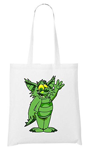 Horrorfilm Handtaschen (Green Monster Bag White Certified Freak)