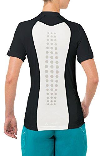 VAUDE Damen T-Shirt Women's Topa Shirt, Black, 38, 05479 -