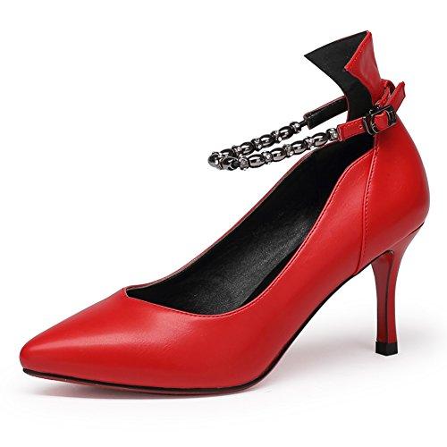 Asakuchi shoes en Europe et en Amérique à l'automne/ chaussures pointues noires des femmes/ chaussures de mariage nuptiale lanière B