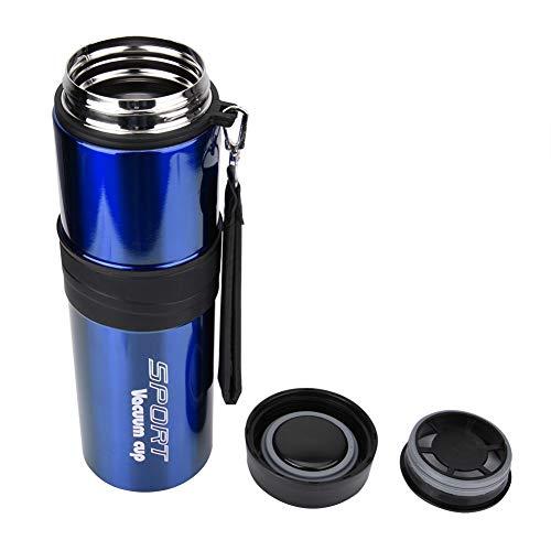 Jadpes 1000ML Edelstahl Vakuumflasche, Outdoor Bergsteigen Becher Travel Large Capacity Portable Thermos(#3) - Outlet Assembly