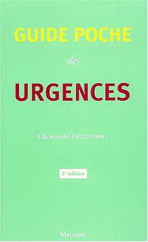 Guide poche des urgences