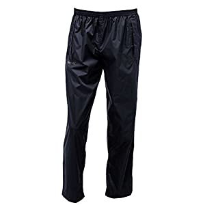 41V9JEYAJrL. SS300  - Regatta Mens Pack-it Waterproof and Breathable Trousers