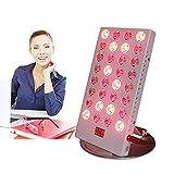 WODT Dispositivo di Terapia con Luce LED Rossa con Controllo Timer, 35W Rosso Vicino infrarosso 660nm 850nm per Pelle e Sollievo dal Dolore, Anti-invecchiamento, Perdita di Grasso