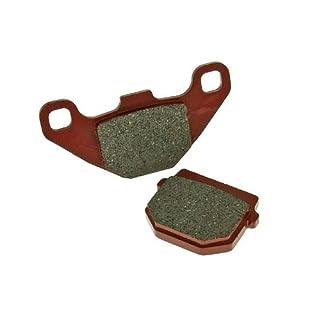 Bremsbeläge organisch für Gilera SMT 50 D50B0 13- ZAPABB01