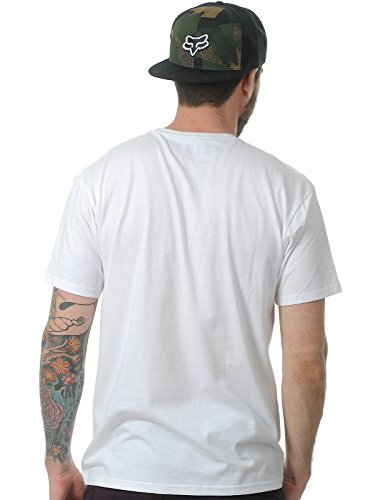 Fox T-Shirt Dragger, optic white Weiß