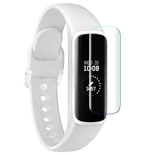 YUANHOT 6 Stück Schutzfolie für Samsung Galaxy Fit e SM-R375 Displayschutzfolie Anti-Bubble Volle Abdeckung HD Klar