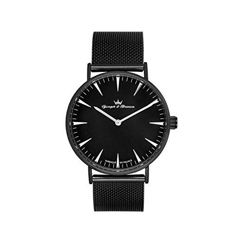 Orologio uomo Yonger & Bresson nera e Argentata–HMN 075-am3
