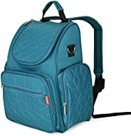 Mommy Bag Backpack Waterproof Large Capacity Baby Bags Diaper Bag with Changing Pad Stroller Hanging Strap Sto