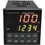 Inkbird IDC-S1RH Numérique Relais Compteur Contrôleur Retard Interrupteur Commande de Commutateur LCD Ecran