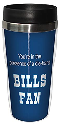 Tree Free sans doublure en acier inoxydable 16 oz Bills Fan de Football Sip Gobelet de voyage-n-Go Multicolore