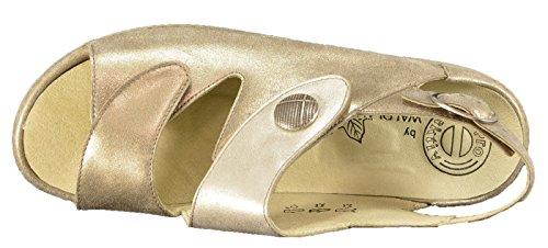 Waldläufer 204014-890-323, Sandali donna Beige beige (lightgold silber)