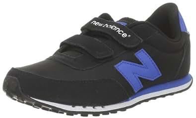 New Balance KE410 282680-40 Unisex-Kinder Sneaker, Schwarz - Black/Blue - Größe: 1_Child_UK