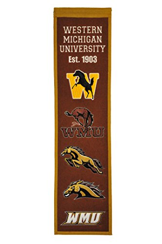 Winning Streak NCAA Western Michigan Broncos Heritage Banner
