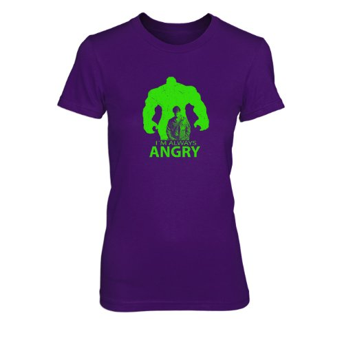 I'm always Angry - Damen T-Shirt Lila