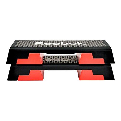 Reebok Step schwarz rot Stepper Steppbrett - 5