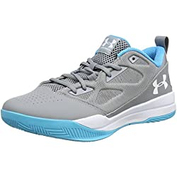 Under Armour Ua Jet Low, Zapatillas de Baloncesto para Hombre, Gris (Steel 035), 46 EU