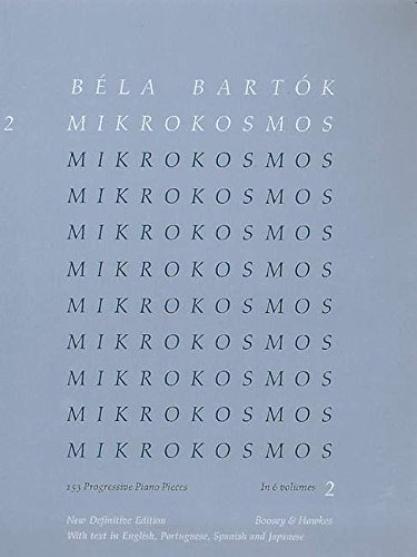 Mikrokosmos Vol. 2 Piano
